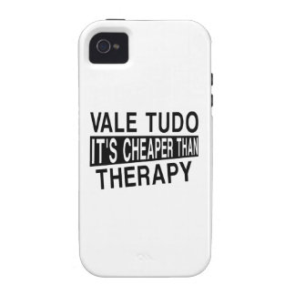 VALE TUDO IT IS CHEAPER THAN THERAPY CASE FOR THE iPhone 4