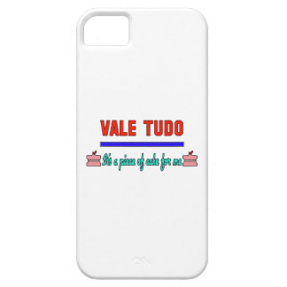 Vale Tudo It's a piece of cake for me iPhone 5 Cover