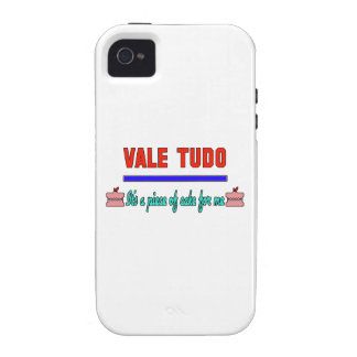 Vale Tudo It's a piece of cake for me iPhone 4/4S Cases
