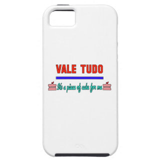Vale Tudo It's a piece of cake for me iPhone 5 Case