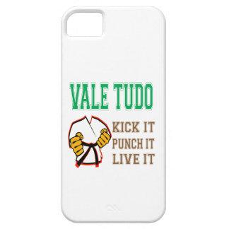 Vale Tudo Kick it, Punch it, Live it iPhone 5 Cases
