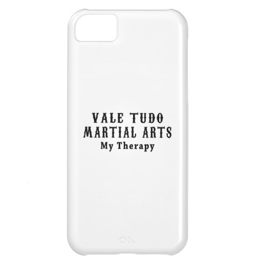 Vale Tudo Martial Arts My Therapy iPhone 5C Cover