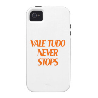 Vale Tudo Never Stops iPhone 4/4S Cases
