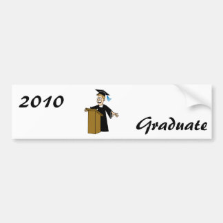 Valedictorian Bumper Sticker
