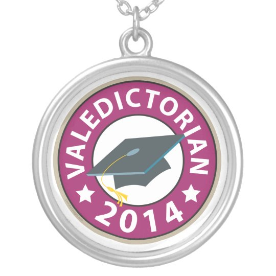 Valedictorian Silver Plated Necklace