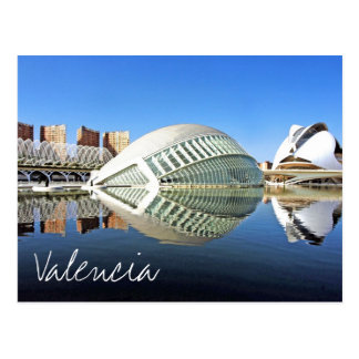 Valencia,  City of Arts and Sciences Postcard