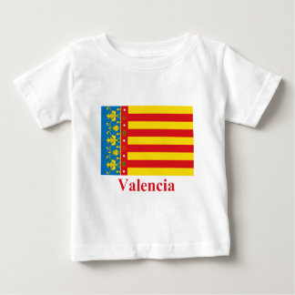 Valencia flag with name baby T-Shirt