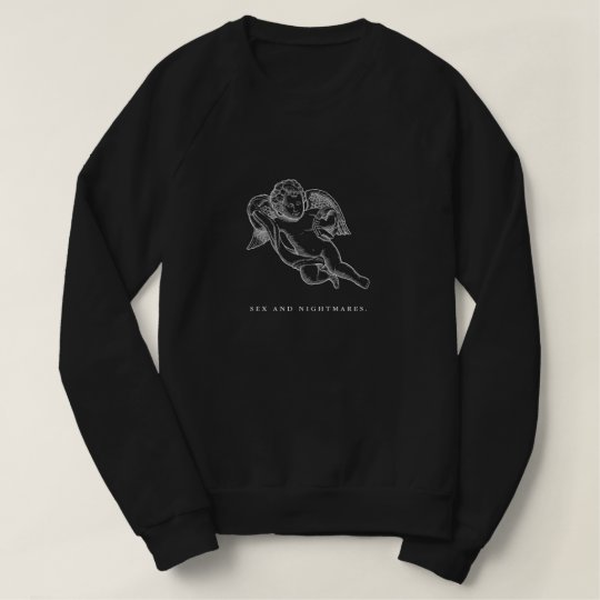 Valencia Sex and Nightmares Women's Black Pullover