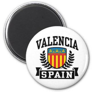 Valencia Spain Magnet