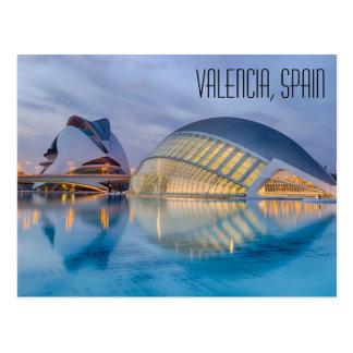 Valencia Spain Postcard
