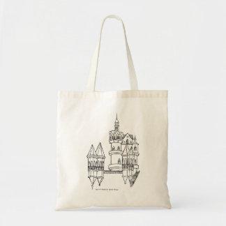 Valentim castle budget tote bag