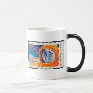 Valentina Vladimirovna 1st Woman in Space 11 Oz Magic Heat Color-Changing Coffee Mug