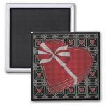 Valentine 02 Chocolate Box Square Magnet