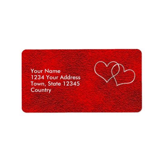 Valentine #2 label