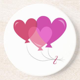 Valentine Balloons Coasters