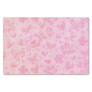 Valentine Blossoms Adorable BIRTHDAY HOLIDAY 2 Tissue Paper