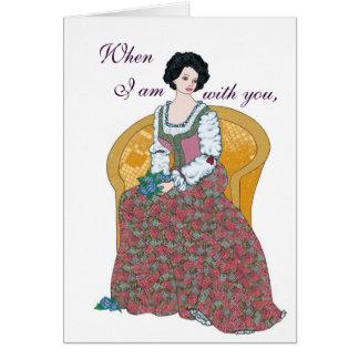 Valentine Bouquet Card