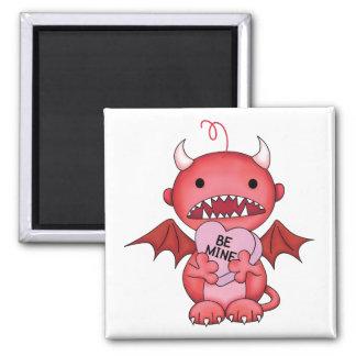 Valentine Boy Devil Fridge Magnet