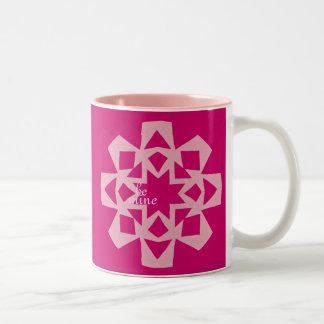 "Valentine ""brownie in a mug"" recipe gift"