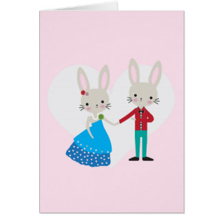 Valentine Bunny Card