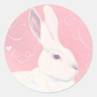 Valentine Bunny Sticker