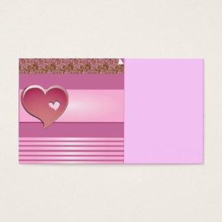 valentine business card