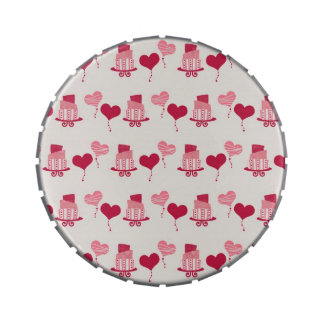 Valentine Cake and Balloons jpg Jelly Belly Tin