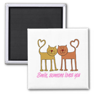 Valentine Cats In Love Magnet