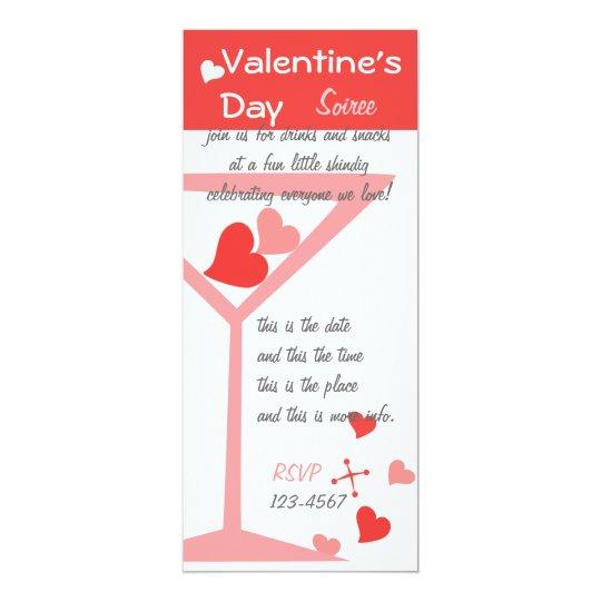 Valentine Cocktails Card