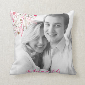 Valentine couple name love pillow cushions