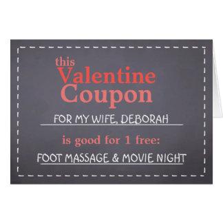 Valentine Coupon Card
