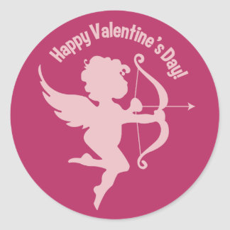 Valentine Cupid stickers