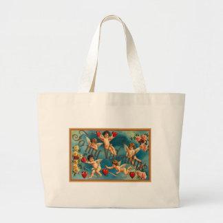 Valentine Cupids Tote Bag