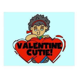 Valentine Cutie Postcard