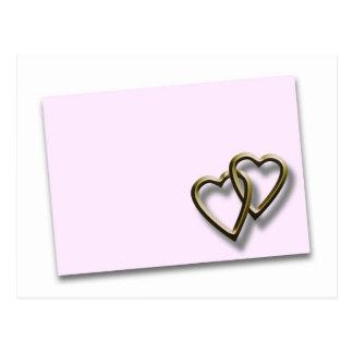 Valentine Day Envelope Postcard