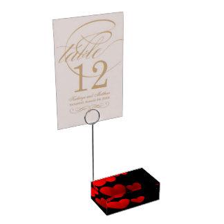Valentine Day Table Number Holder