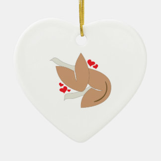 Valentine Fortune Ceramic Heart Decoration