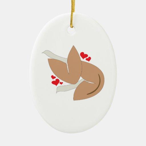 Valentine Fortune Ornament