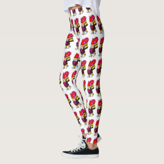 VALENTINE GNOME leggings