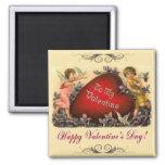 Valentine Greeting Fridge Magnets