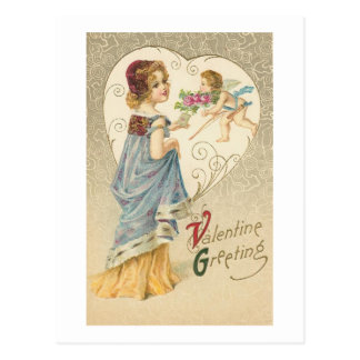 Valentine Greeting Postcard