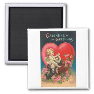 Valentine Greetings 2 Refrigerator Magnet