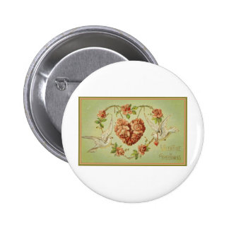 Valentine Greetings Pinback Buttons