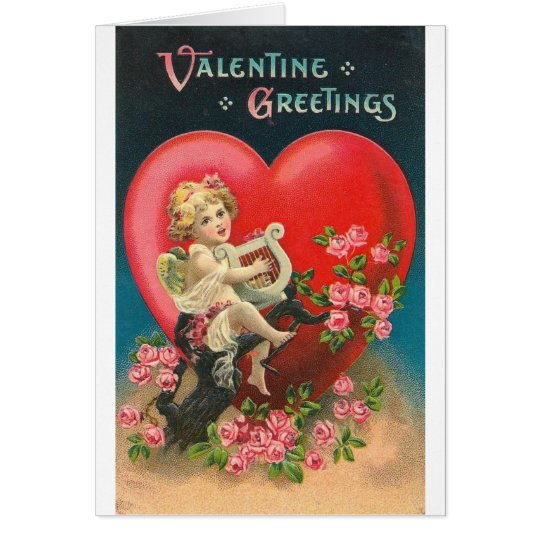 Valentine Greetings Card
