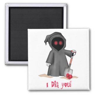 Valentine Grim Reaper Magnet