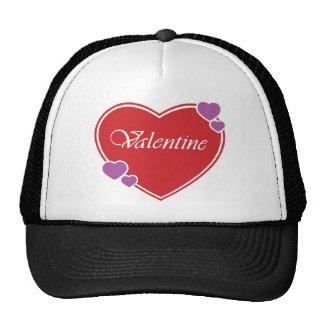 VALENTINE MESH HATS
