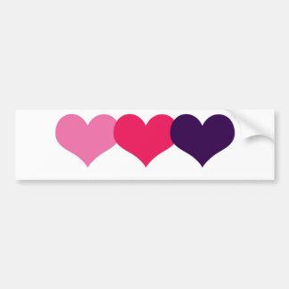 Valentine Heart Bumper Sticker