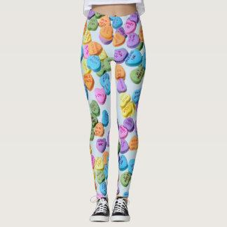Valentine Heart Candy Leggings