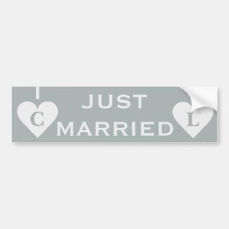Valentine Heart custom bumpersticker Bumper Sticker