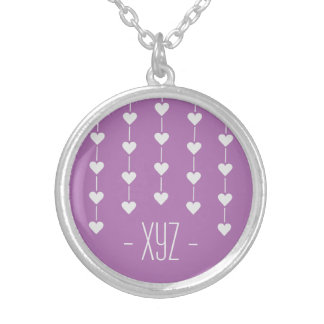 Valentine Heart custom color necklaces